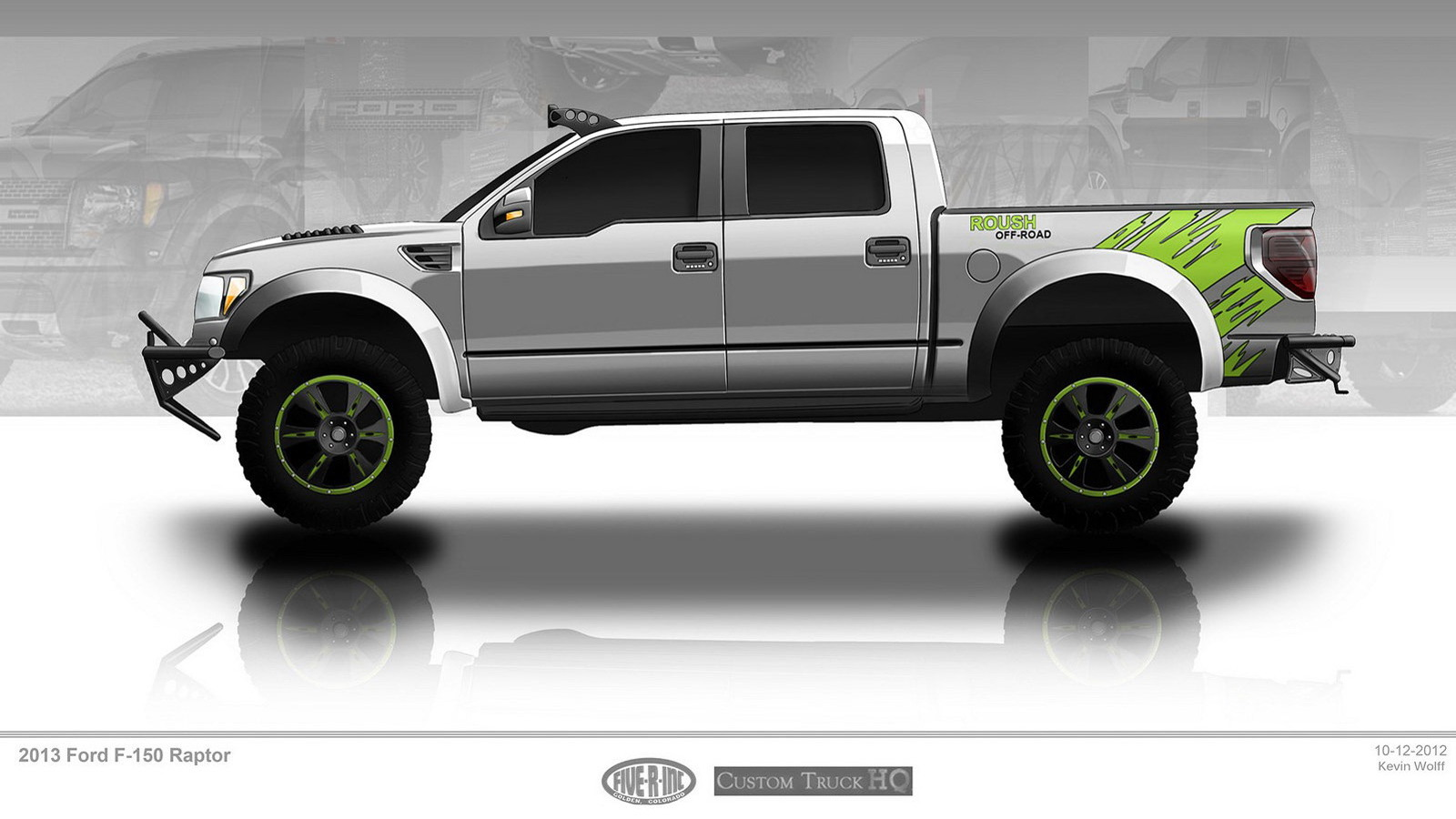 Custom Truck HQ Ford F-150 SVT Raptor