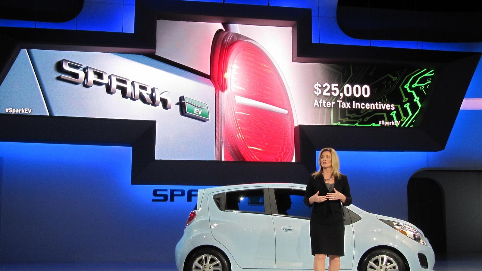 2014 Chevrolet Spark EV introduction, 2012 Los Angeles Auto Show