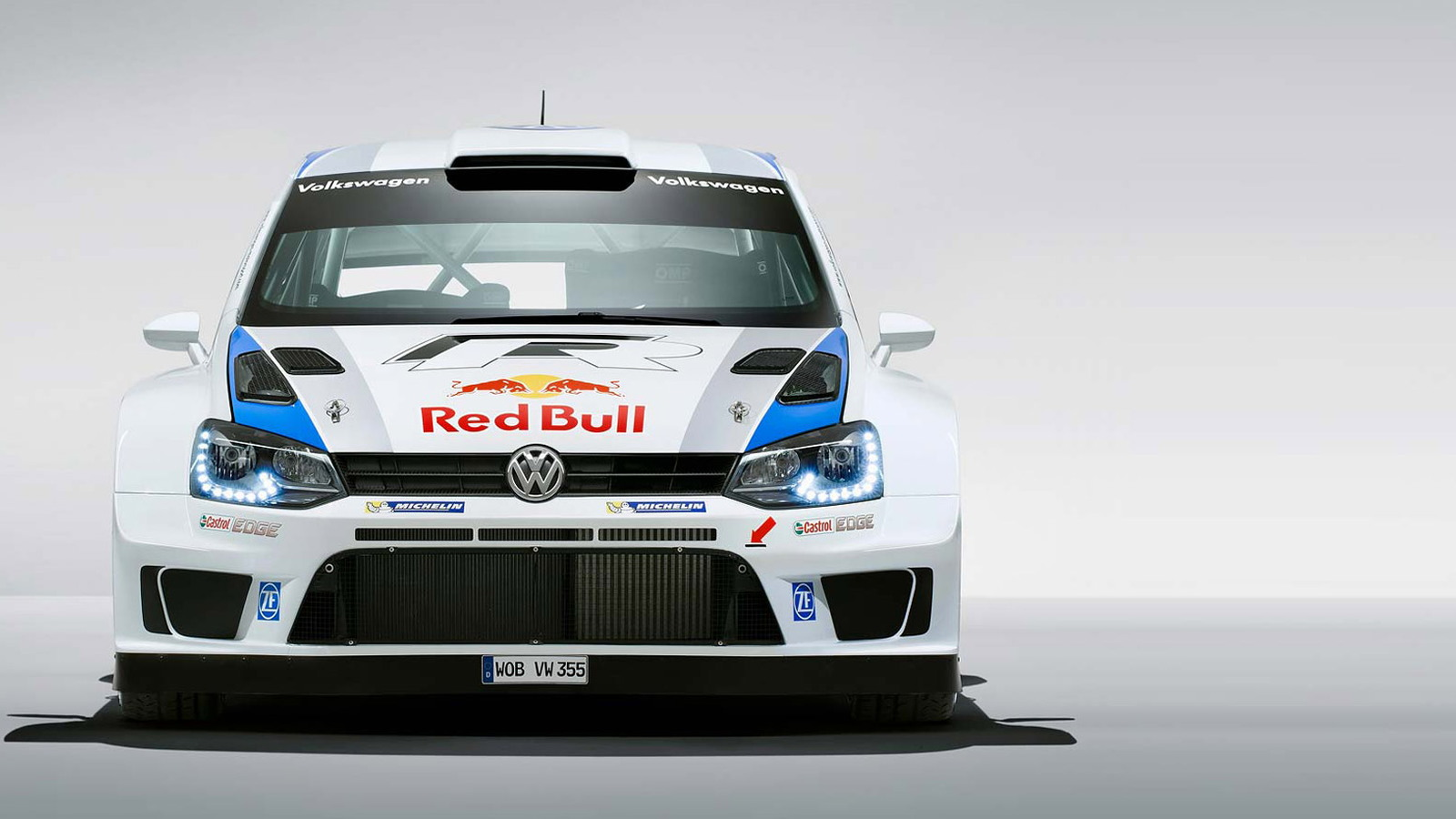 2013 Volkswagen Polo R WRC race car