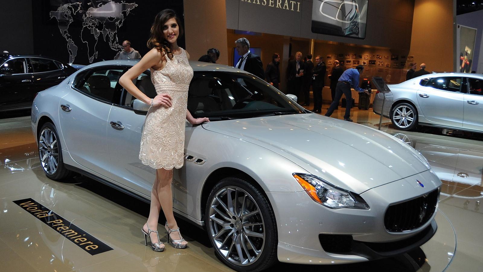 2014 Maserati Quattroporte - 2013 Detroit Auto Show