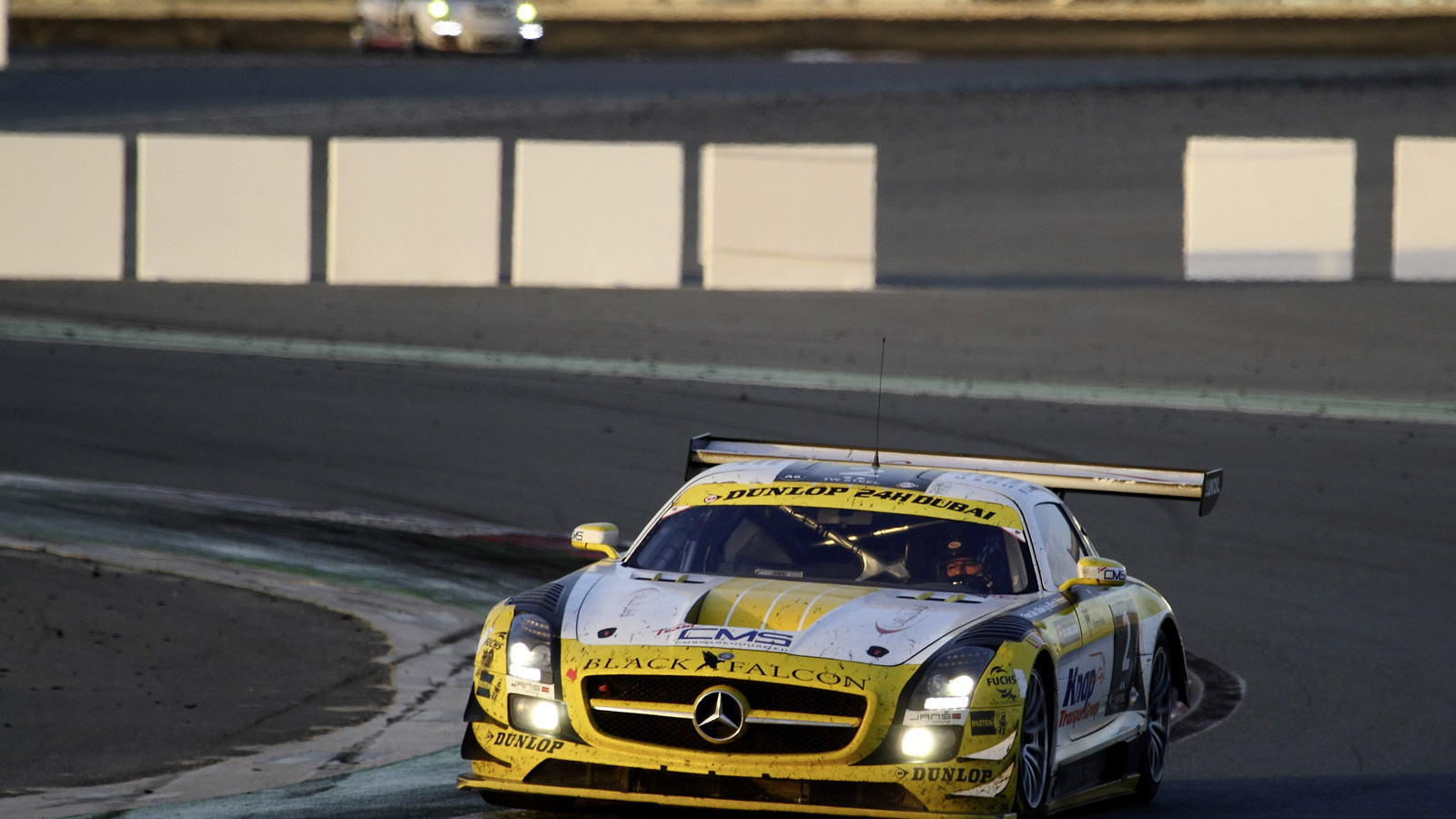 AMG customer teams at the 2013 Dubai 24 Hours endurance race