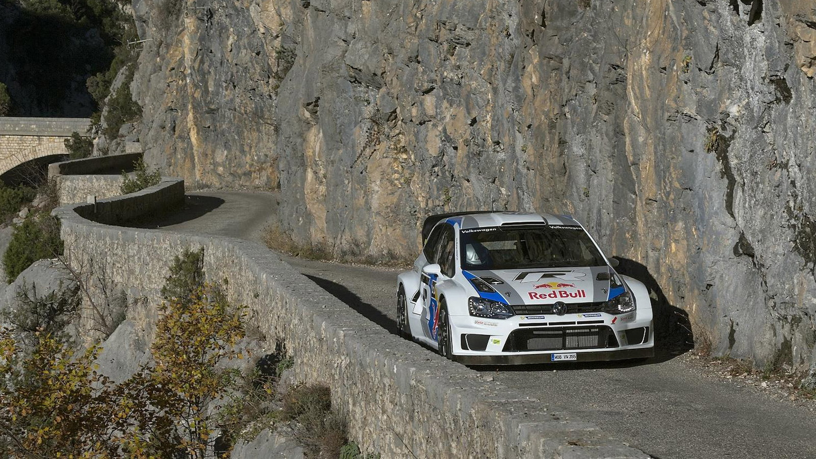 Volkswagen Polo R WRC at the 2013 Rally Monte Carlo