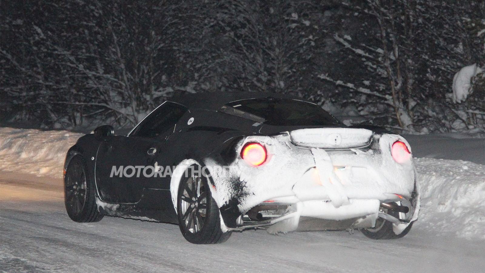 2014 Alfa Romeo 4C spy shots