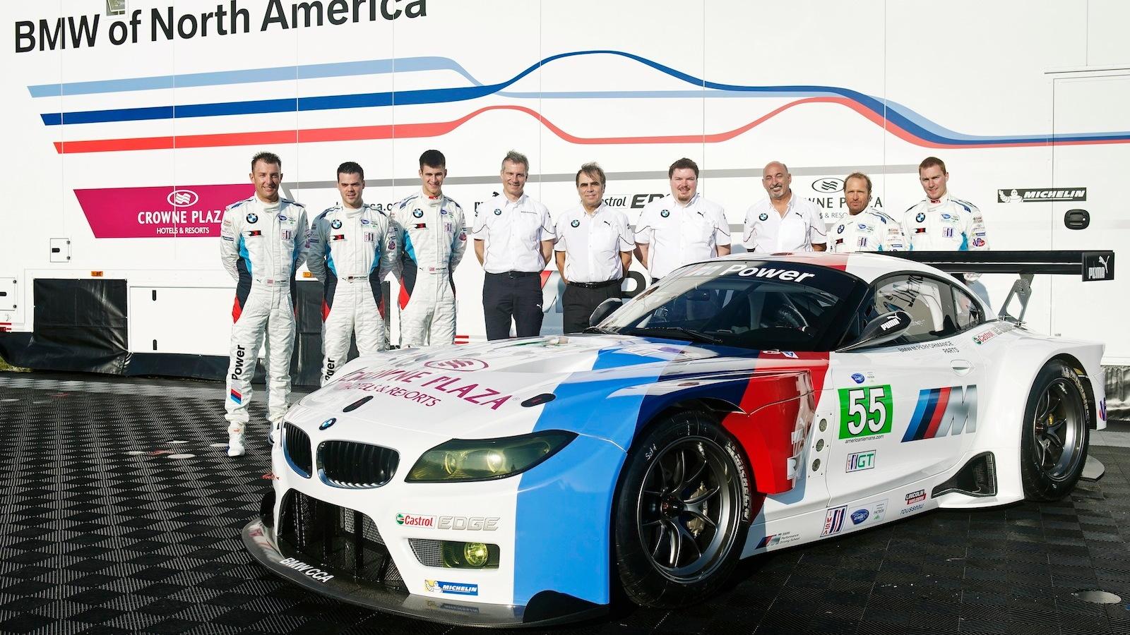 BMW Z4 GTE race car