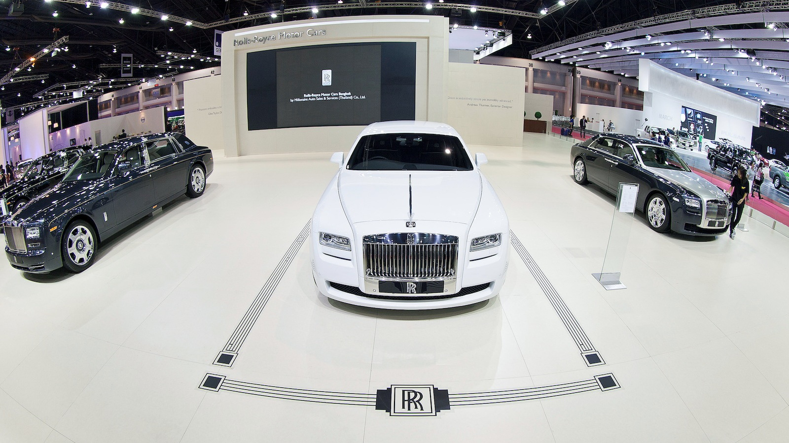 Rolls-Royce Bespoke Art Deco Collection Ghost