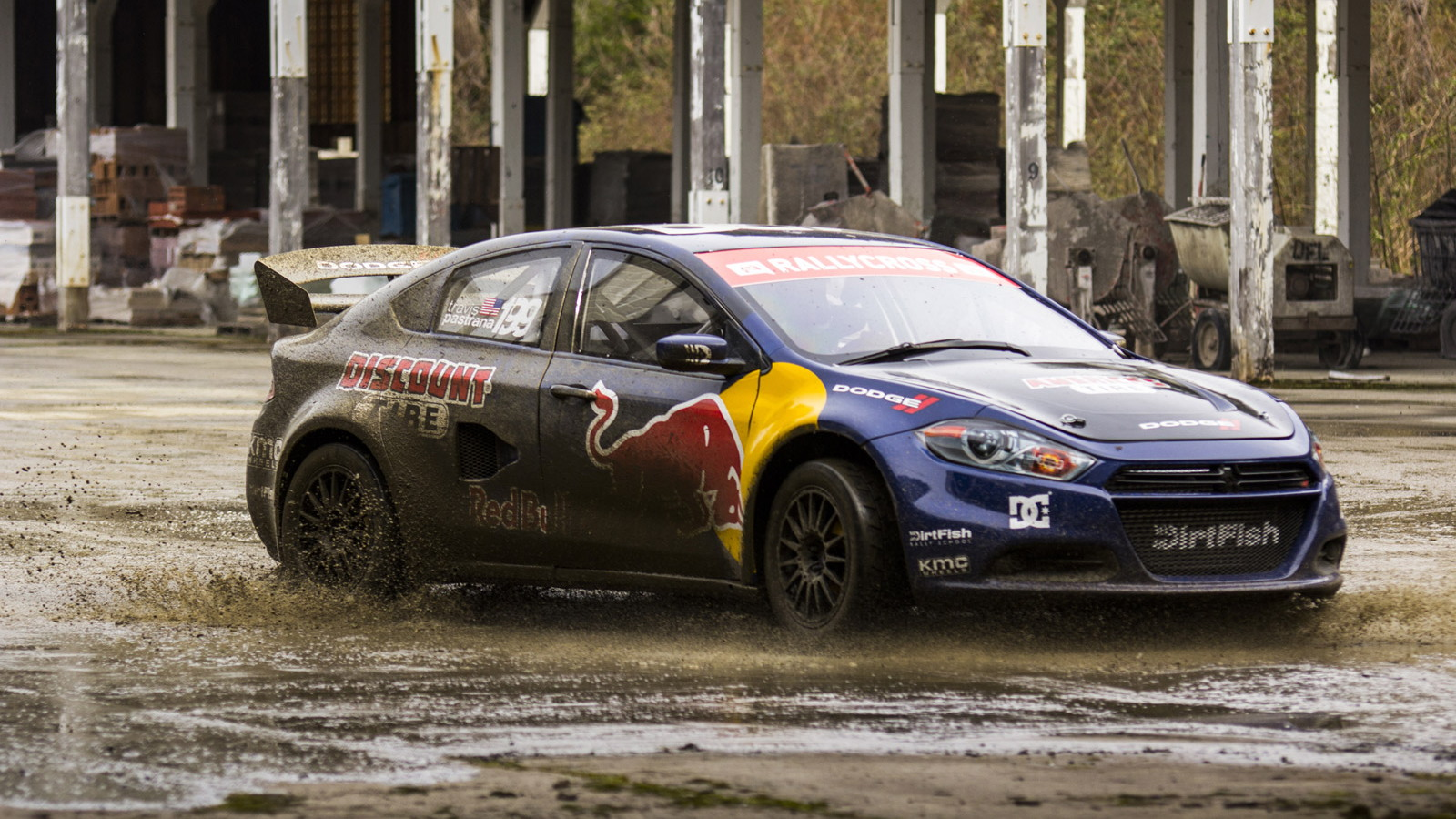 Dodge And Travis Pastrana Sign Up For Second Season Of Global Rallycross