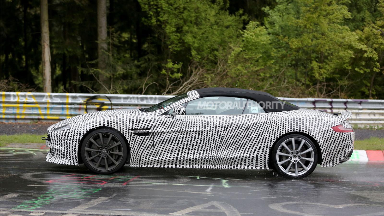 2014 Aston Martin Vanquish Volante spy shots
