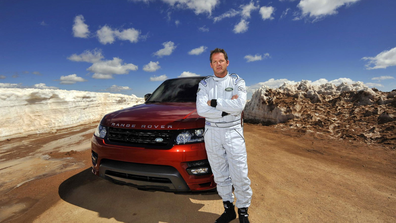 2014 Land Rover Range Rover Sport at Pikes Peak