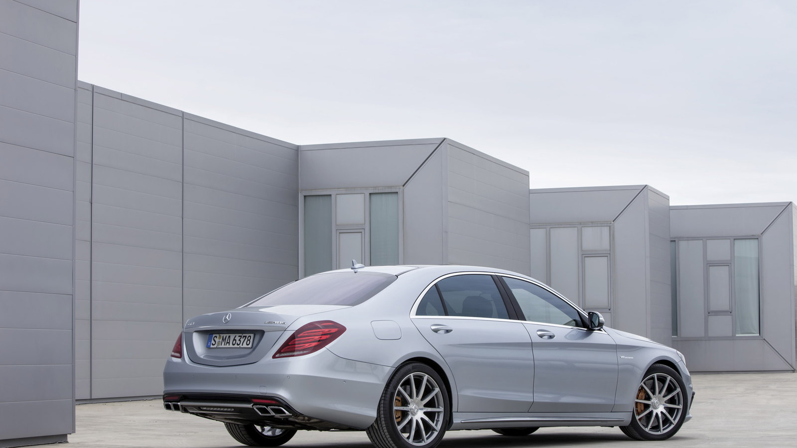 2014 Mercedes-Benz S63 AMG 4MATIC