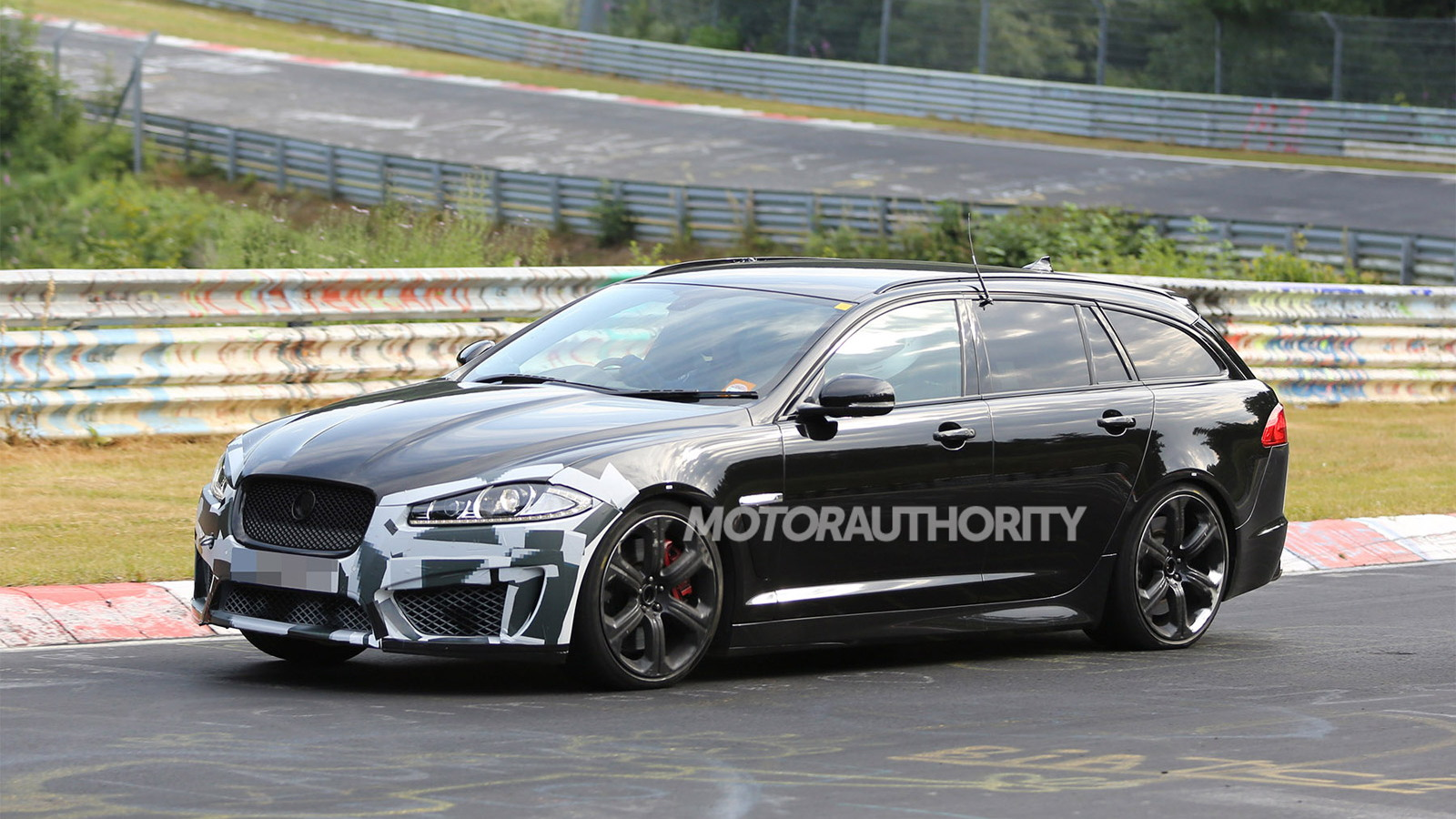 2014 Jaguar XFR-S Sportbrake spy shots