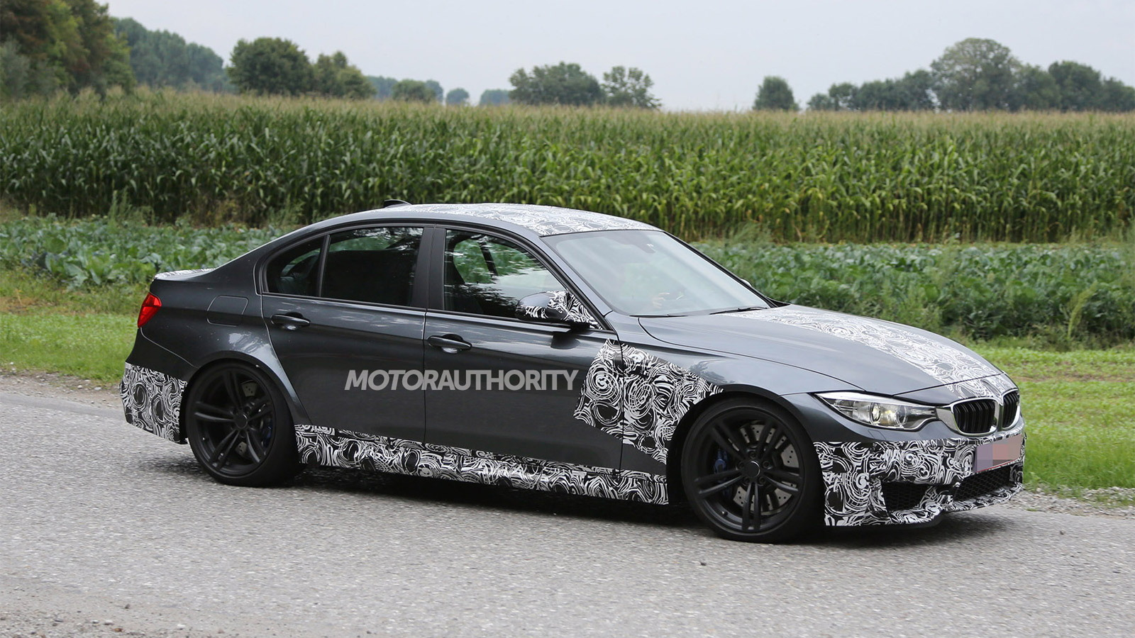 2014 BMW M3 spy shots