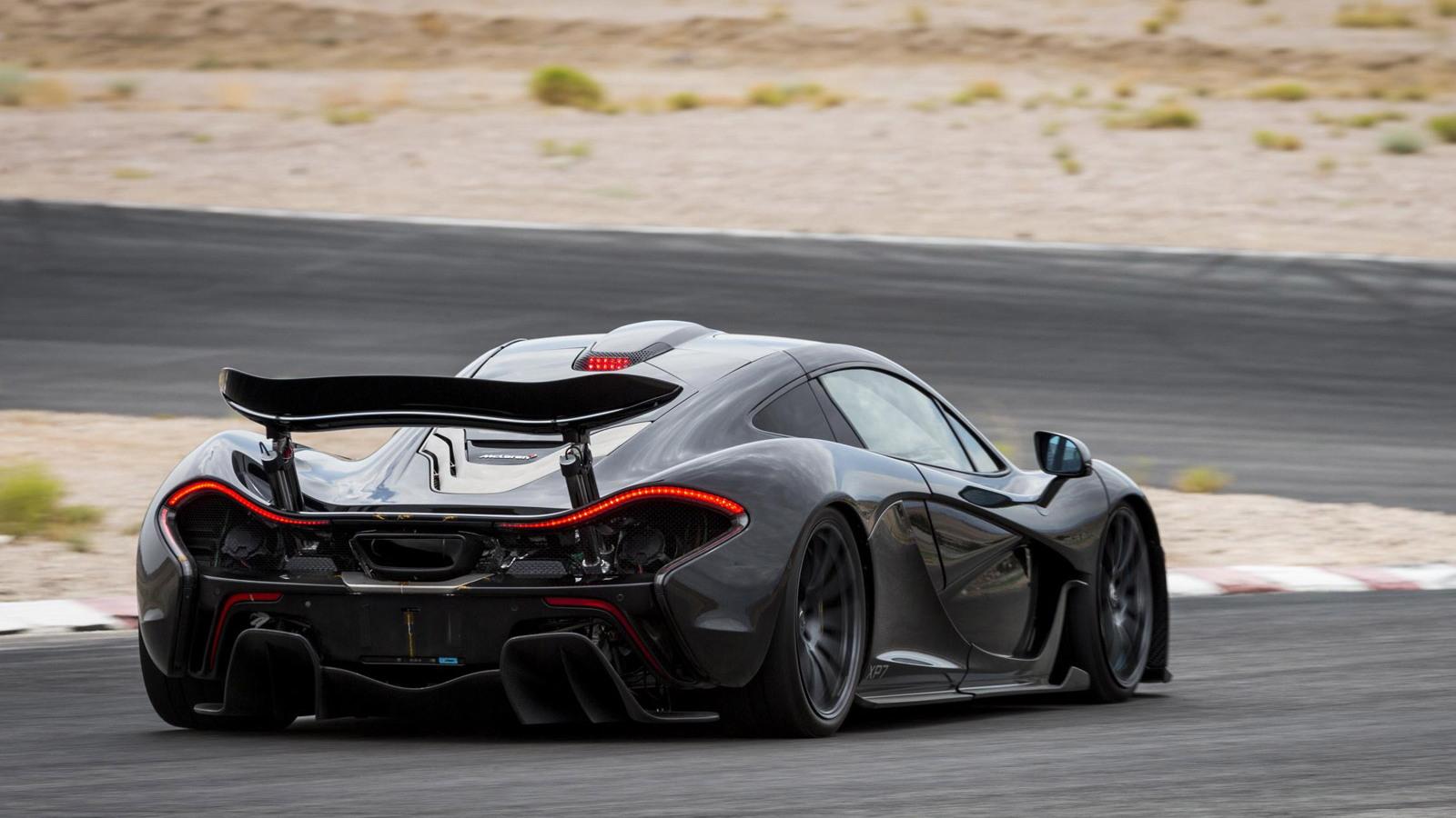 McLaren P1 prototype hot-weather testing