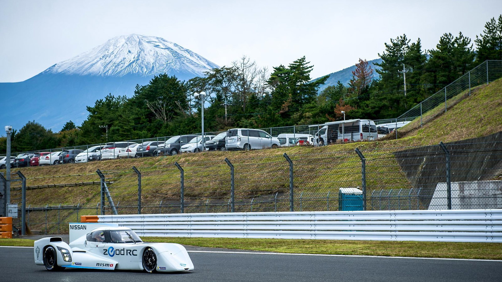 2014 Nissan ZEOD RC Le Mans prototype makes track debut at Fuji Speedway