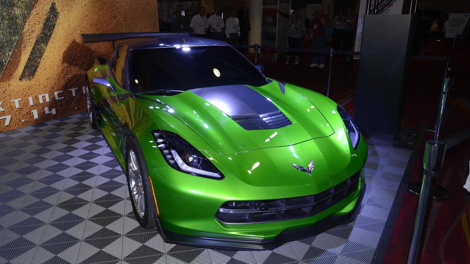 Chevrolet Corvette Stingray from Transformers 4, 2013 SEMA Show
