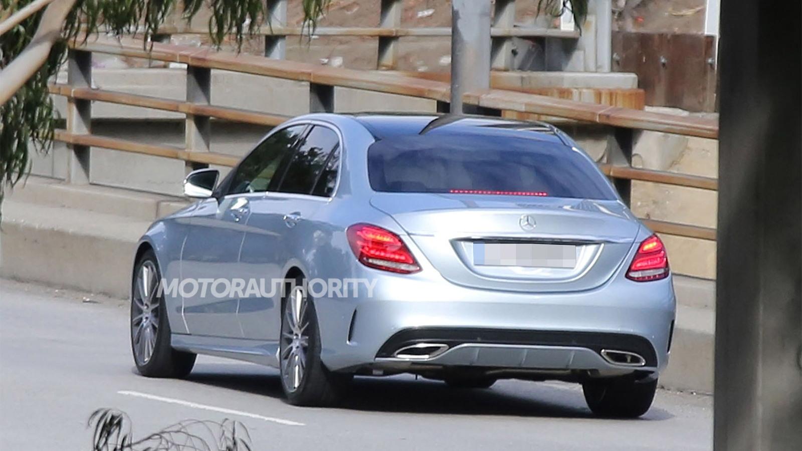 2015 Mercedes-Benz C-Class spy shots