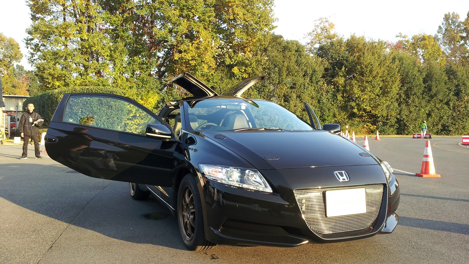 Prototype Honda CR-Z with carbon-fiber reinforced plastic body, Honda Proving Ground, Tochigi, Japan