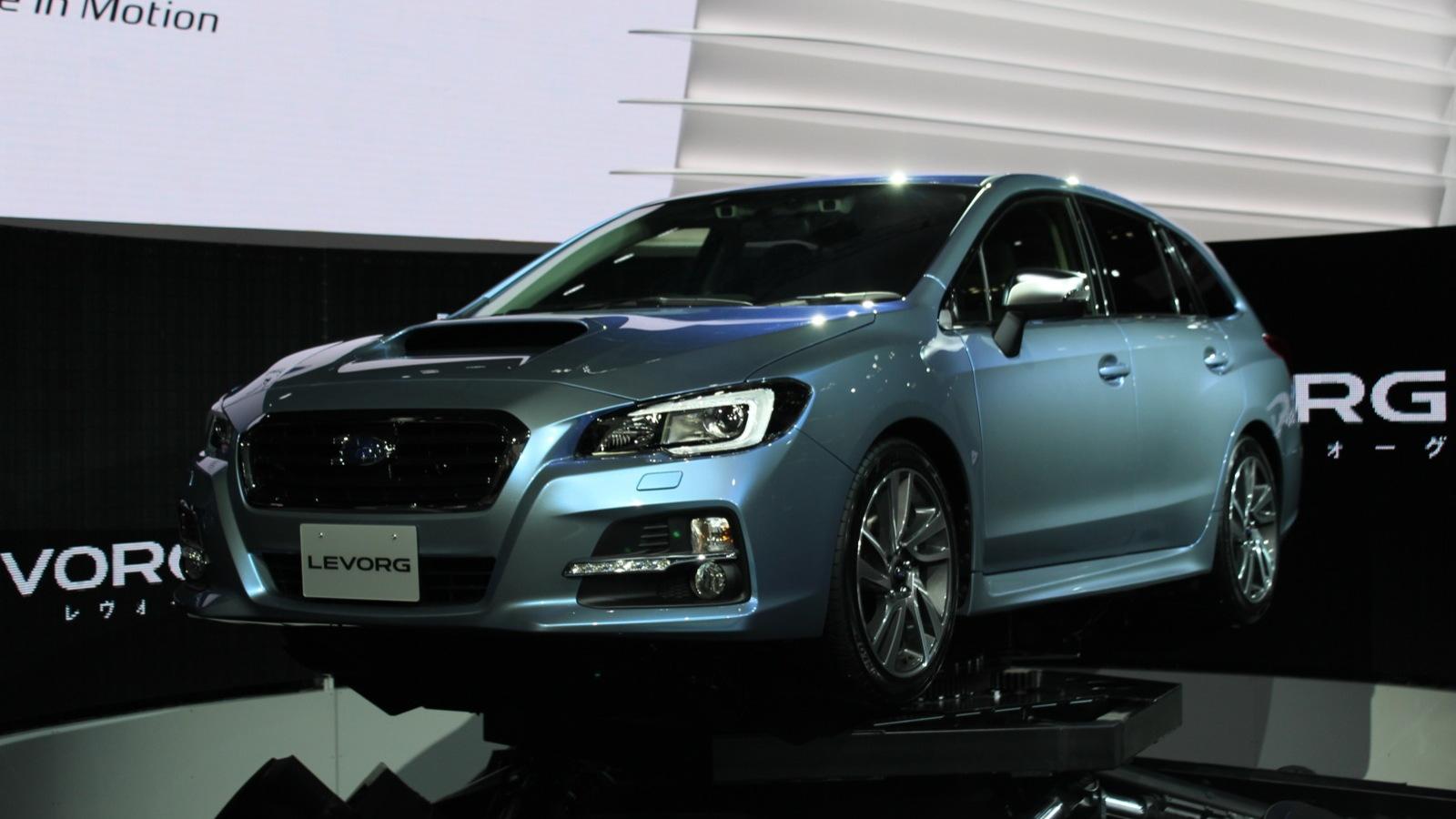 Subaru Levorg concept  -  2013 Tokyo Motor Show live photos