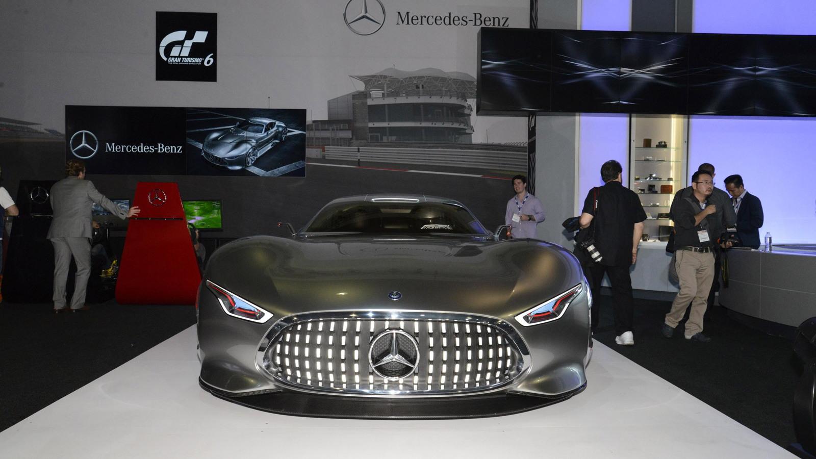 Mercedes-Benz AMG Vision Gran Turismo concept, 2013 Los Angeles Auto Show