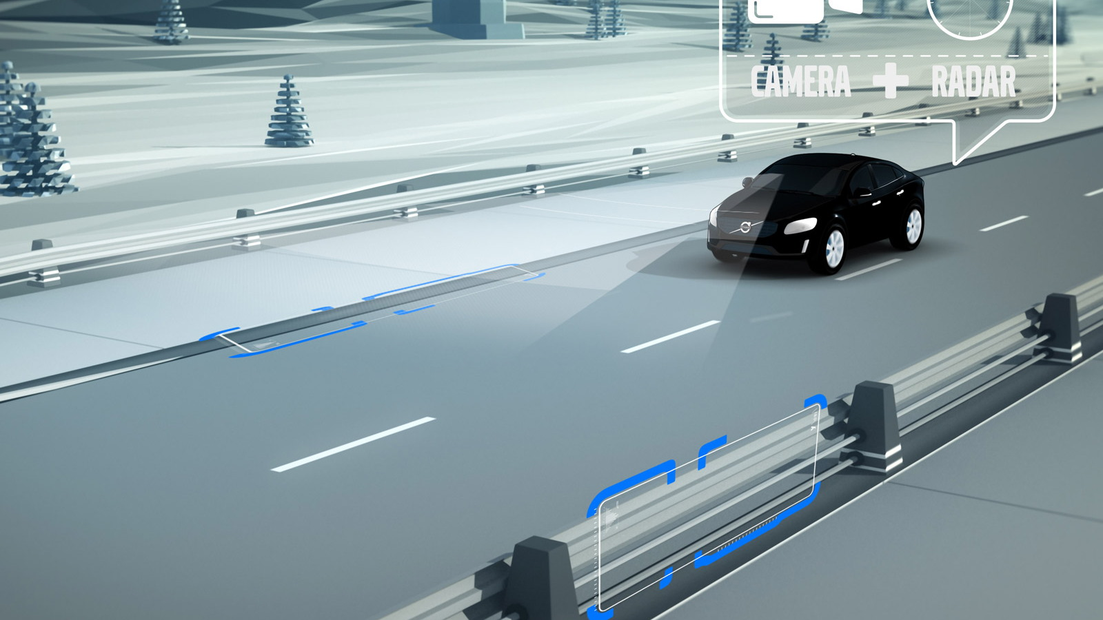 Safety features for Volvo's modular SPA platform