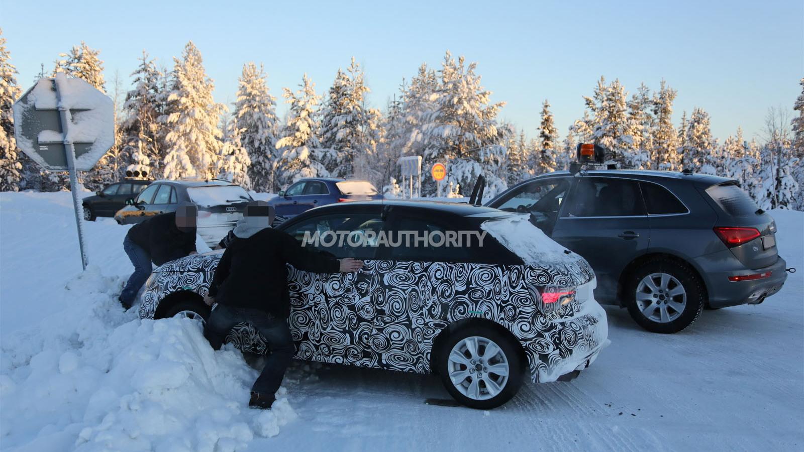 2014 Audi S1 spy shots