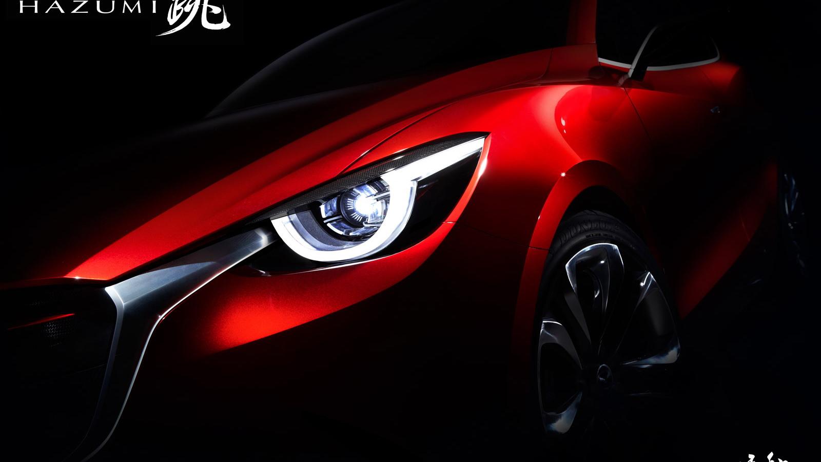 Mazda Hazumi concept, 2014 Geneva Motor Show