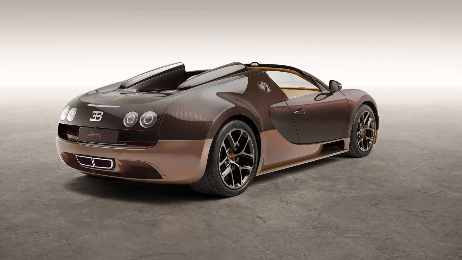 Bugatti Legend 'Rembrandt Bugatti' Veyron Grand Sport Vitesse