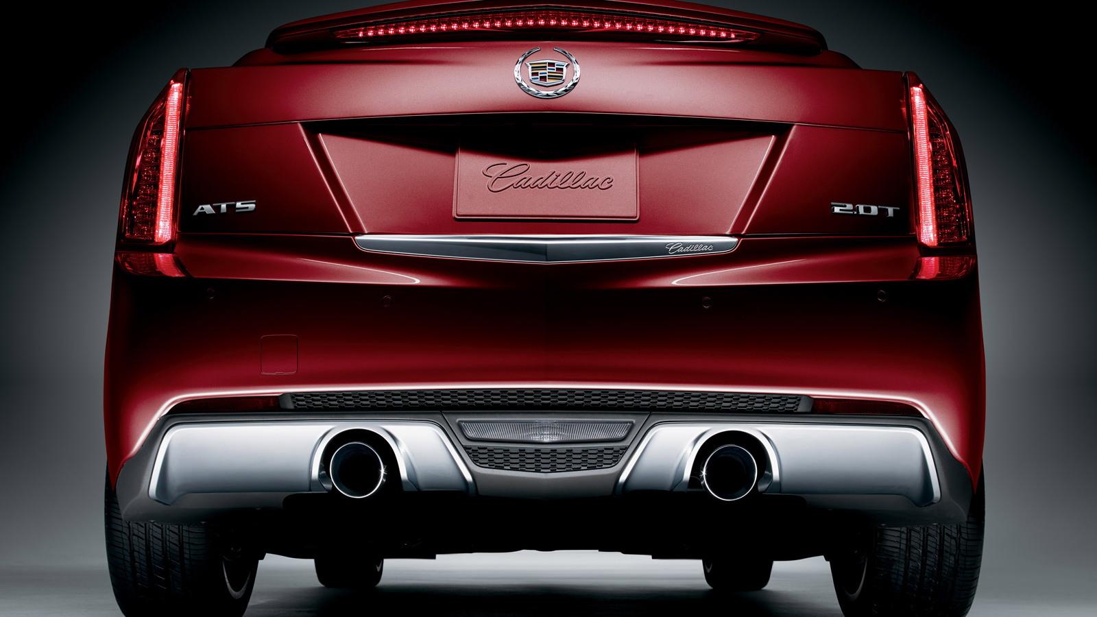 2014 Cadillac ATS Crimson Sport