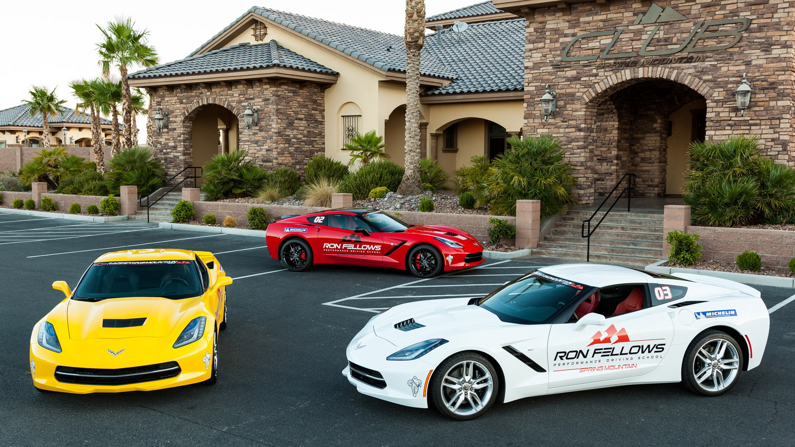 2014 Chevrolet Corvette Stingray at Ron Fellows Performance Driving School