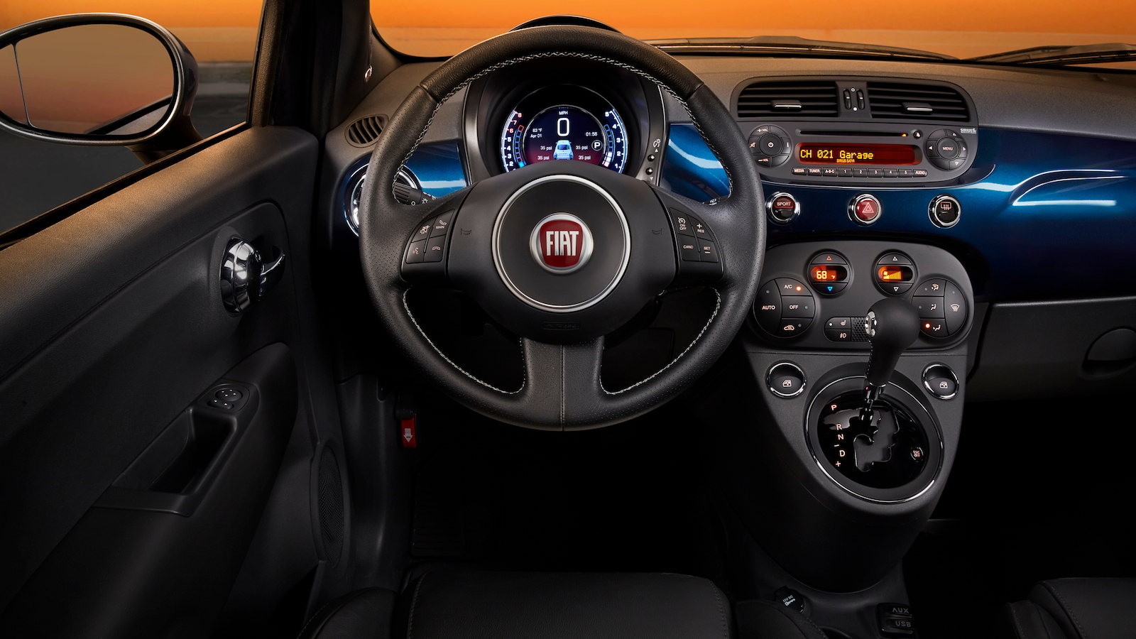2015 Fiat 500 Updated With New Instrument Cluster, Display ...