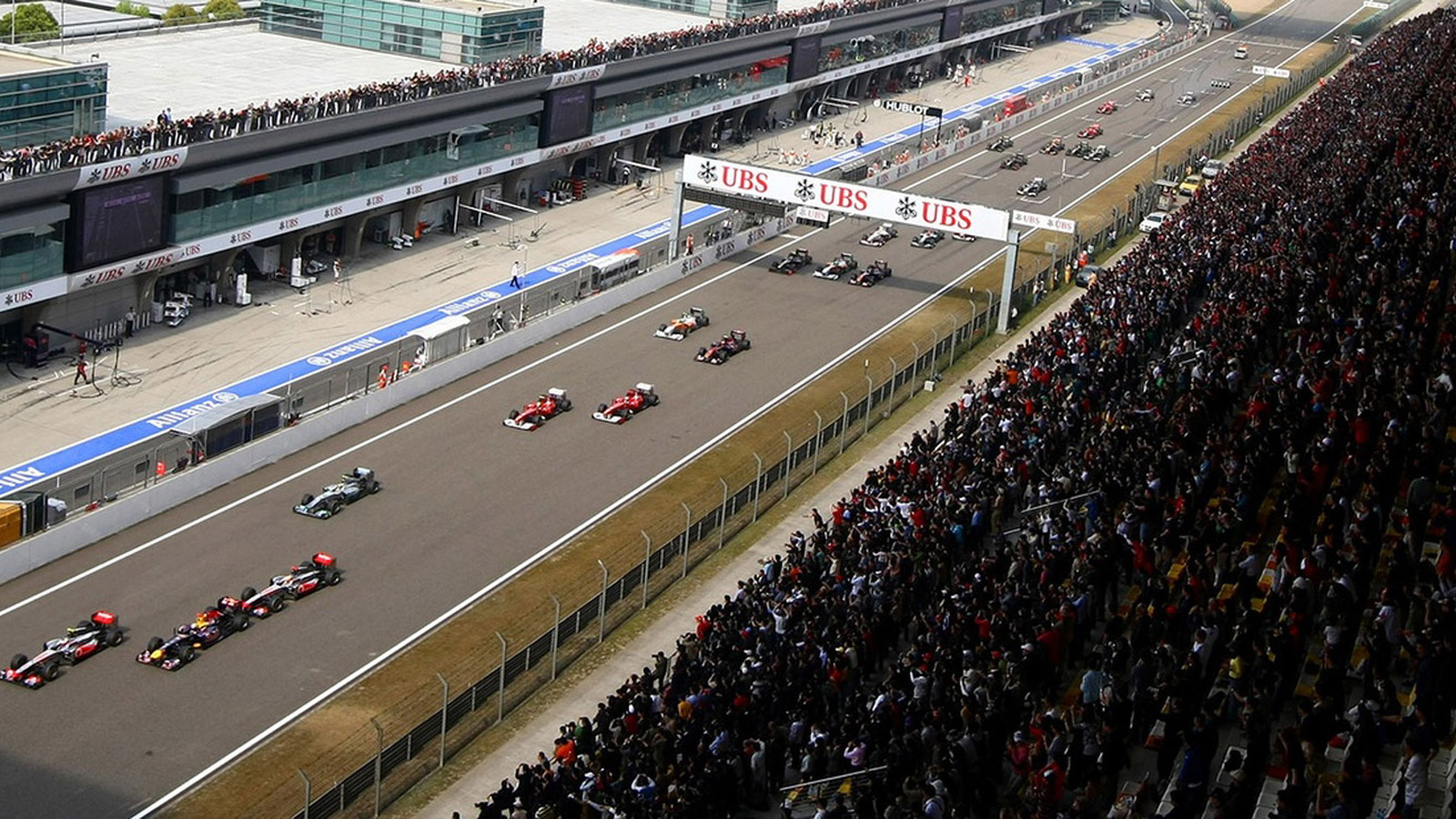 Shanghai International Circuit, home of the Formula 1 Chinese Grand Prix