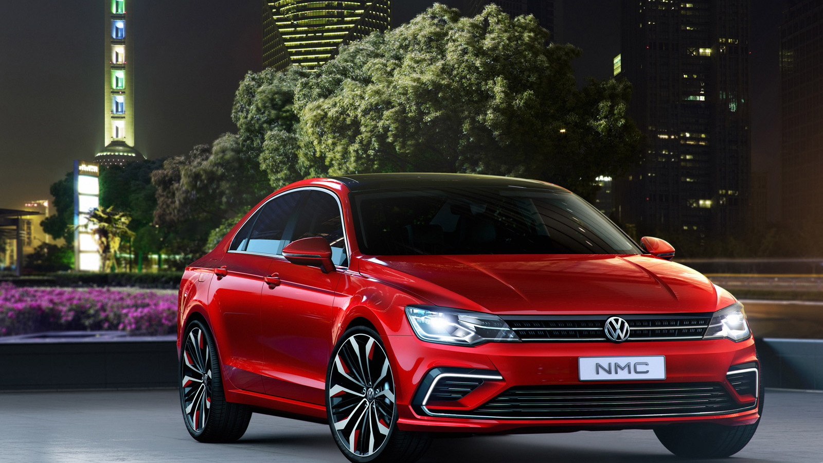 Volkswagen New Midsize Coupe concept, 2014 Beijing Auto Show