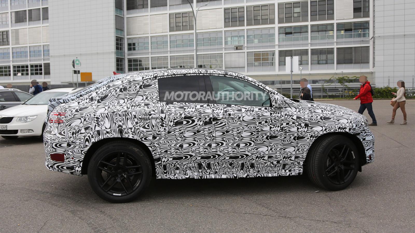 2016 Mercedes-Benz MLC-Class spy shots