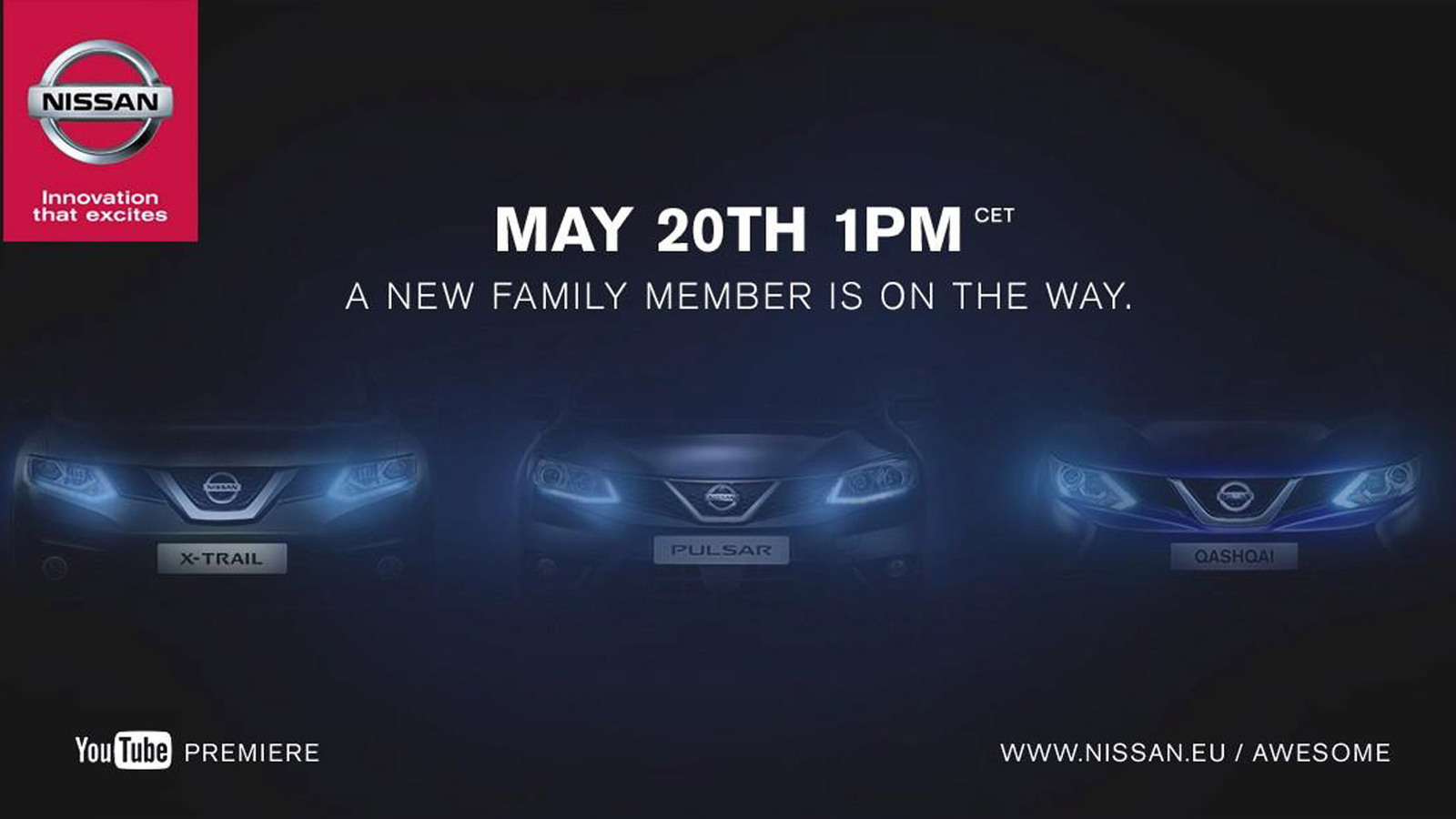 Teaser for 2015 Nissan Pulsar