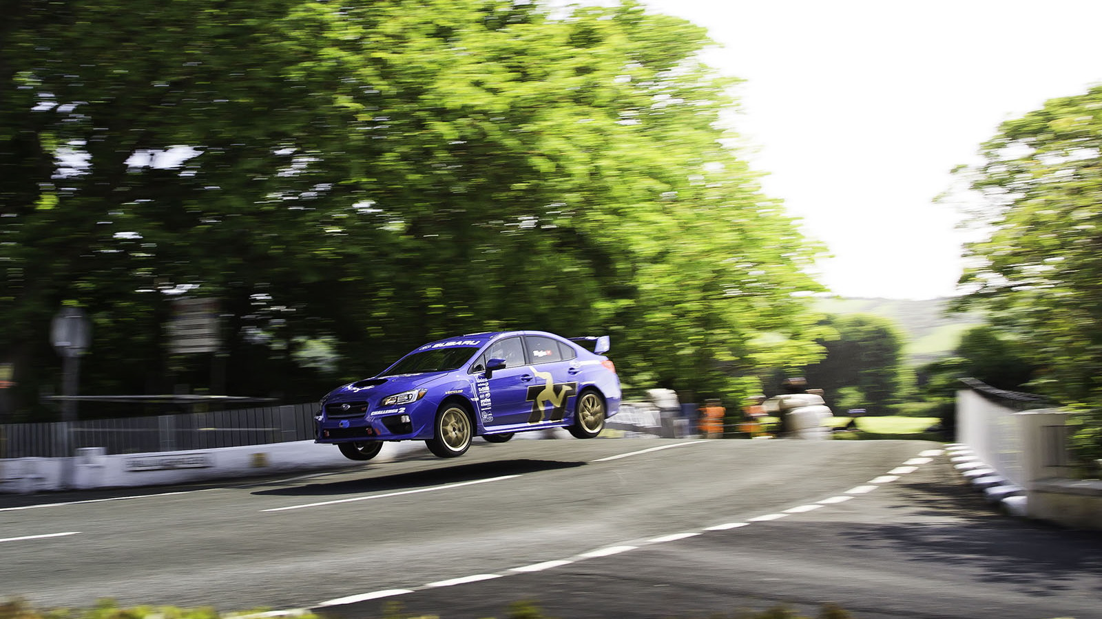 2015 Subaru WRX STI Sets New Isle Of Man TT Car Lap Record