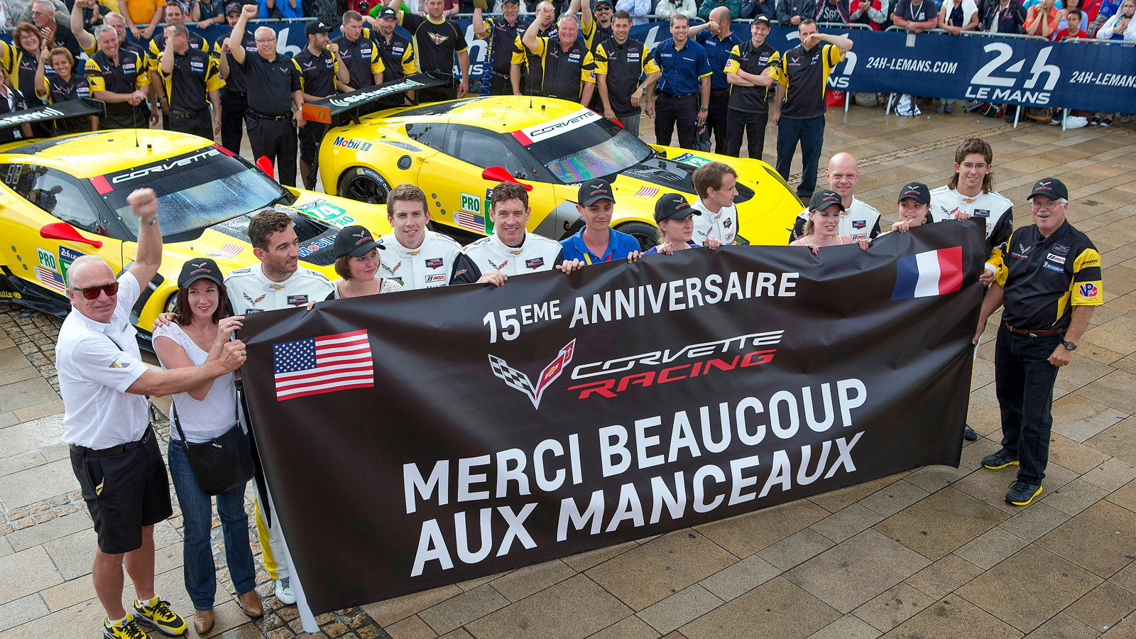 2014 Chevrolet Corvette C7.R at the 24 Hours of Le Mans