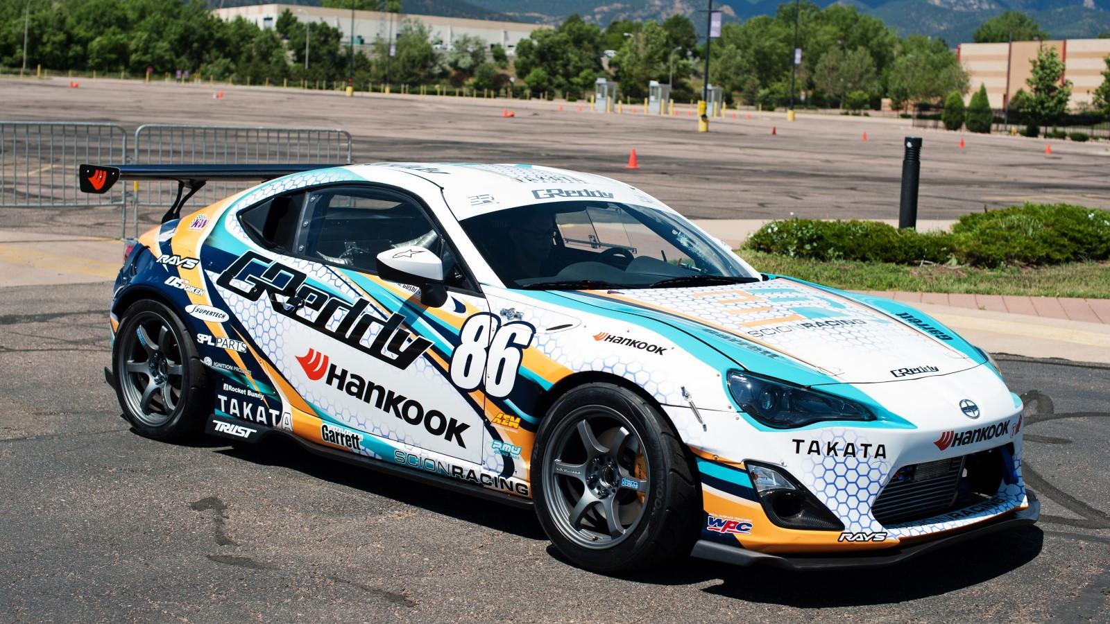 GReddy Racing Scion FR-S prepares for Pikes Peak 2014