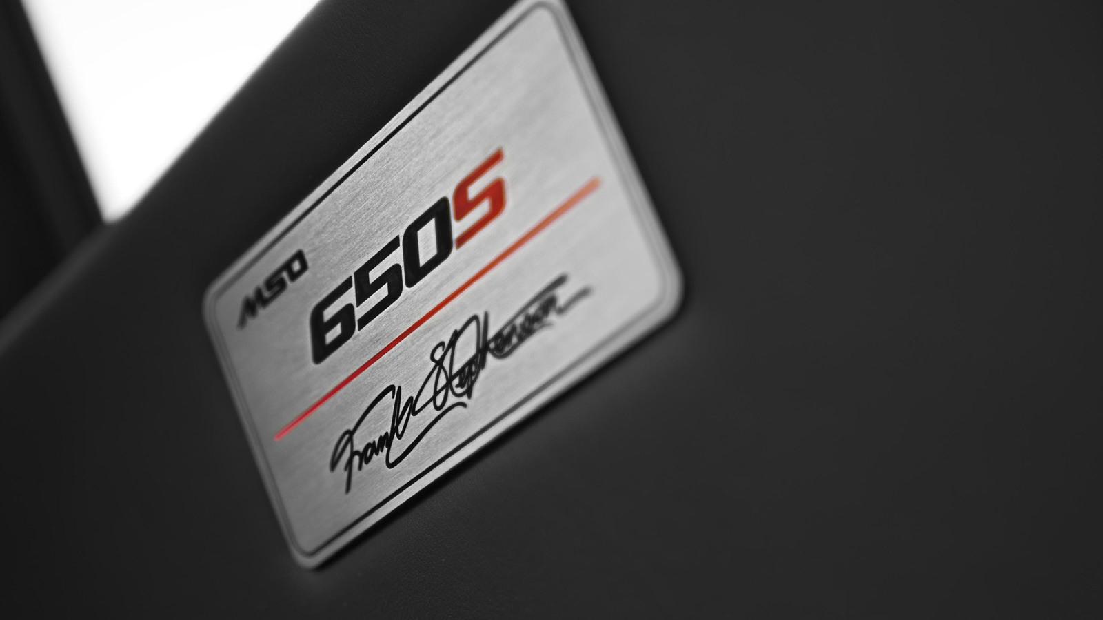 McLaren MSO 650S Spider