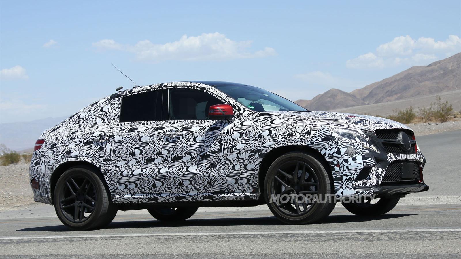 2016 Mercedes-Benz M-Class Coupe spy shots