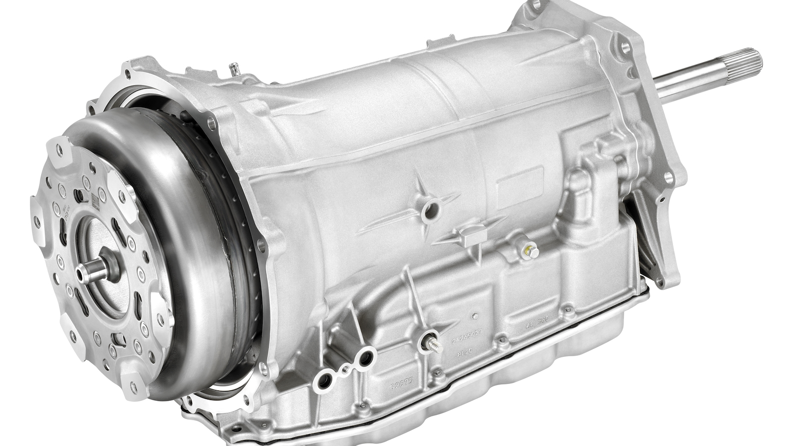 GM Hydra-Matic 8L90 8-speed automatic transmission for the Corvette Stingray and Z06