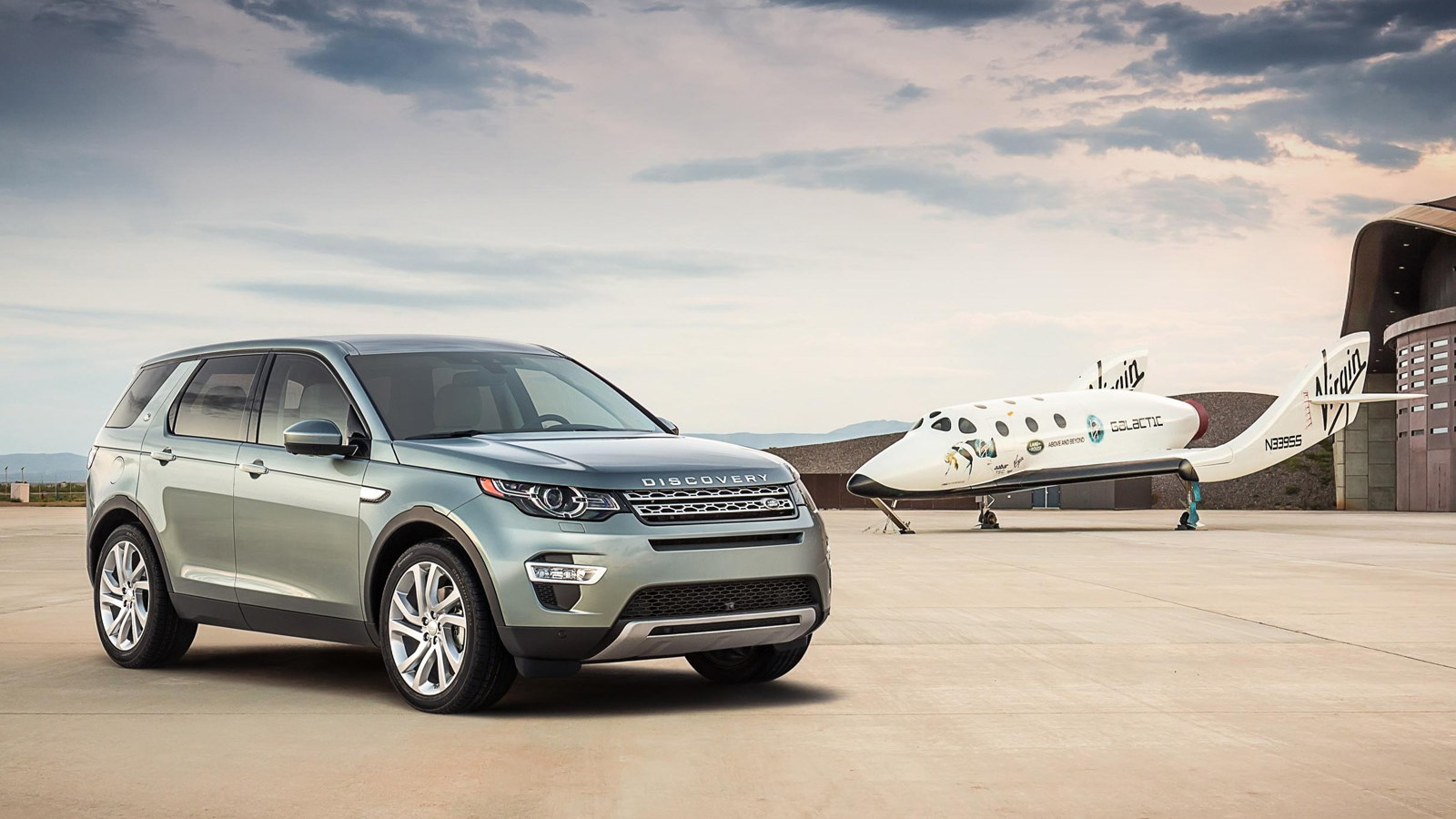 2016 Land Rover Discovery Sport at Virgin Galactic's Spaceport America