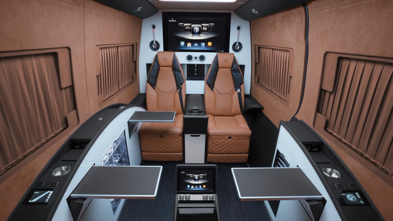 BRABUS Mercedes Sprinter Business Lounge