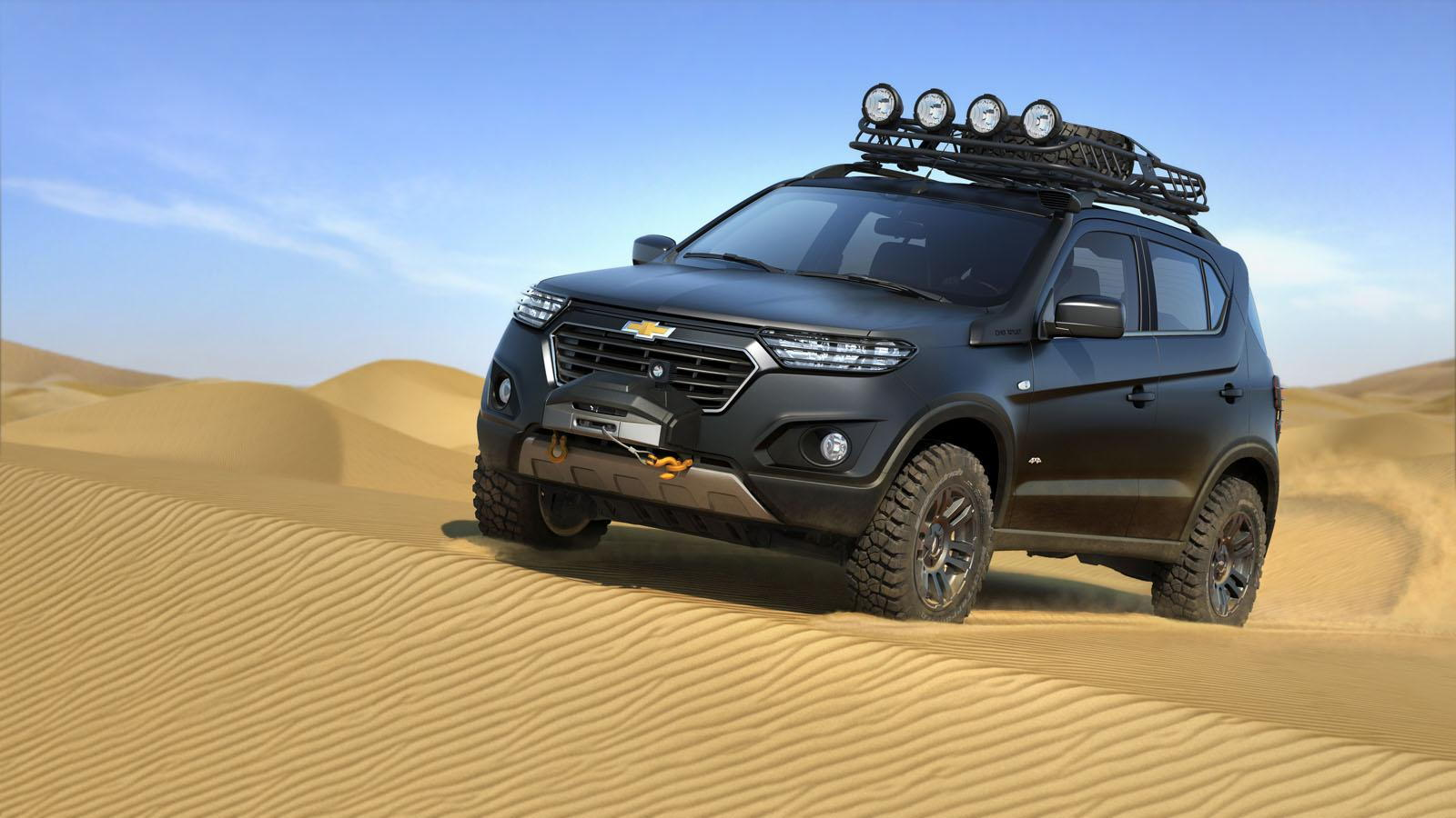 Chevrolet Niva concept, 2014 Moscow Auto Show