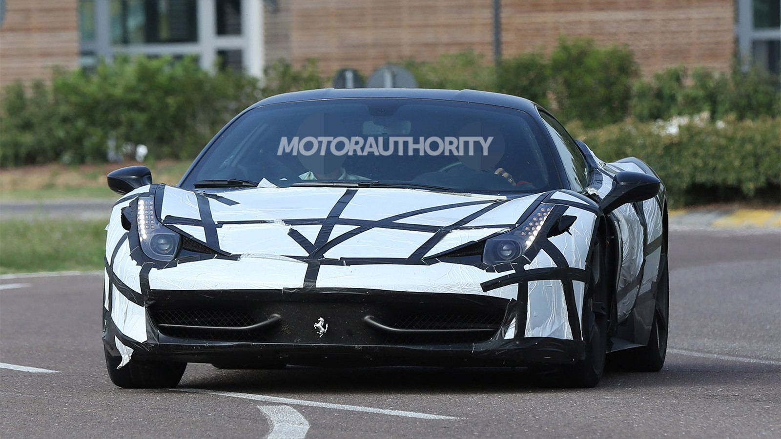 Turbocharged Ferrari 458M spy shots