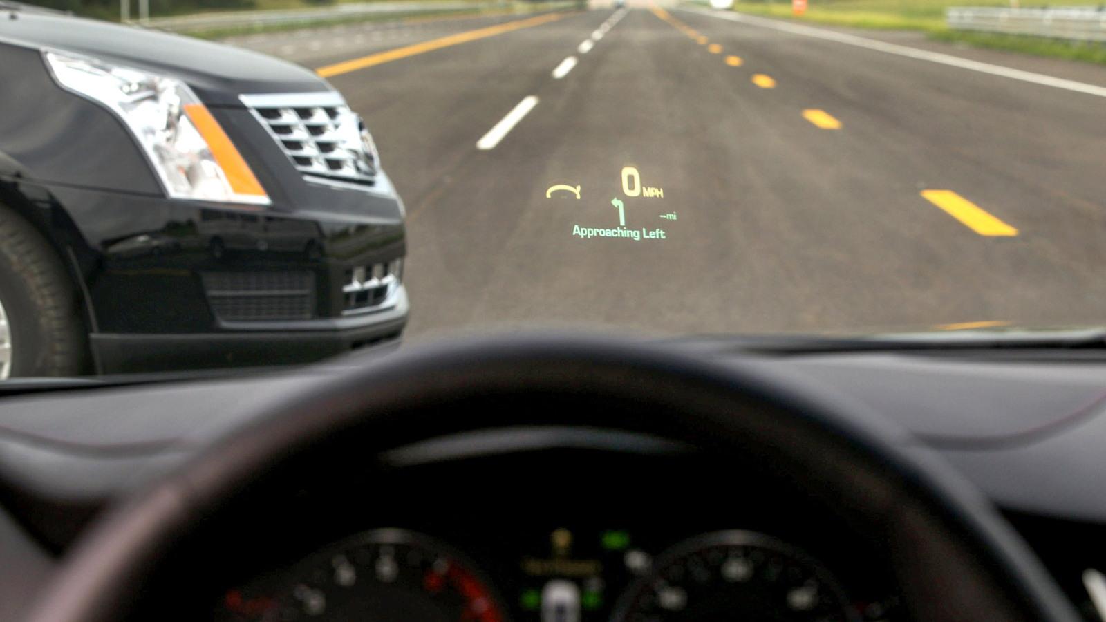 Cadillac semi-autonomous and connected car technology