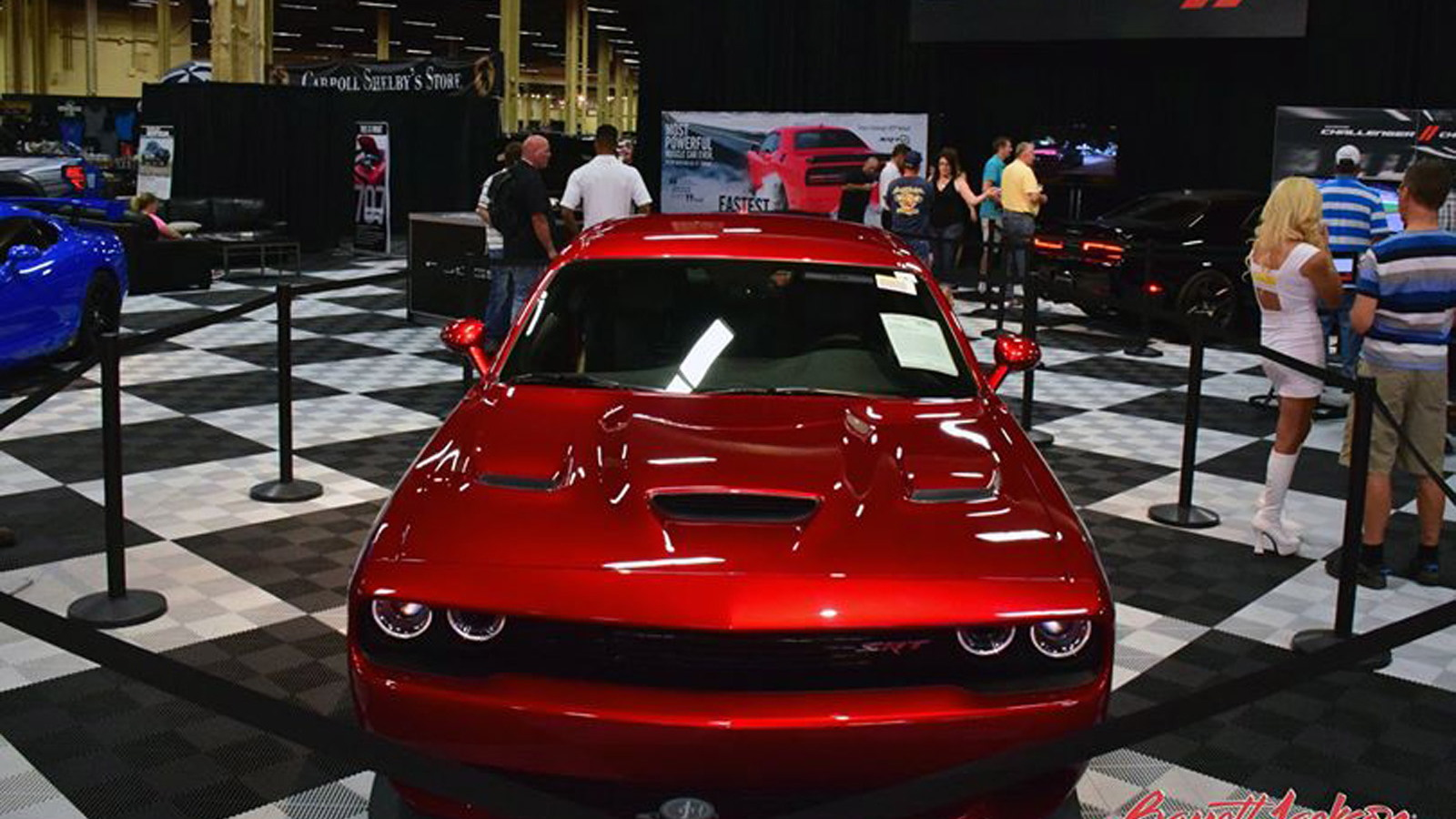 2015 Dodge Challenger SRT Hellcat VIN0001