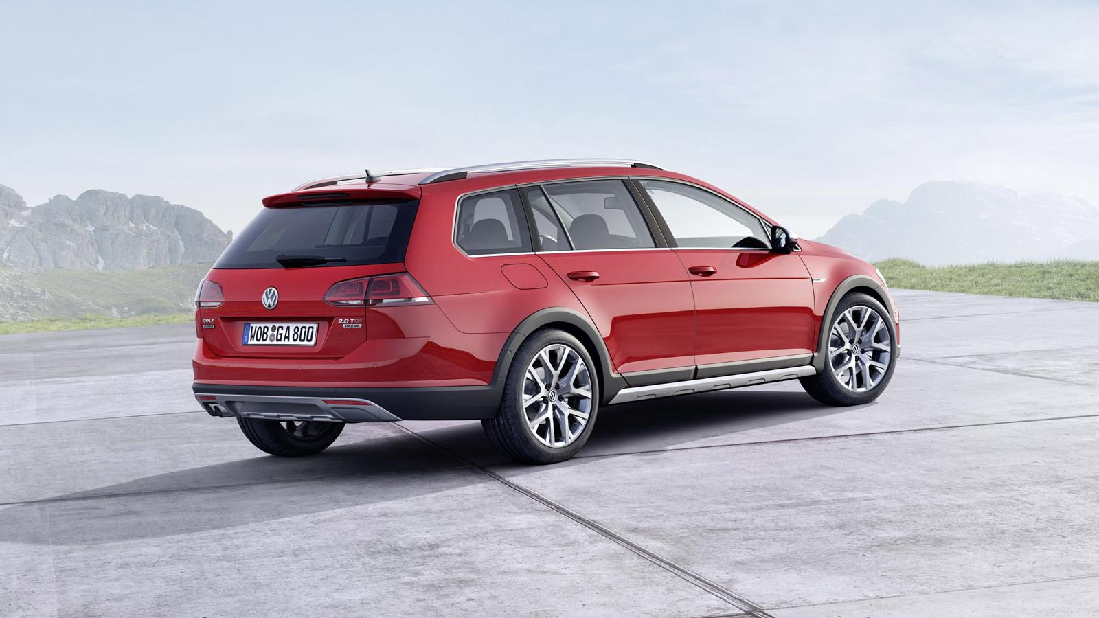 2015 Volkswagen Golf Alltrack