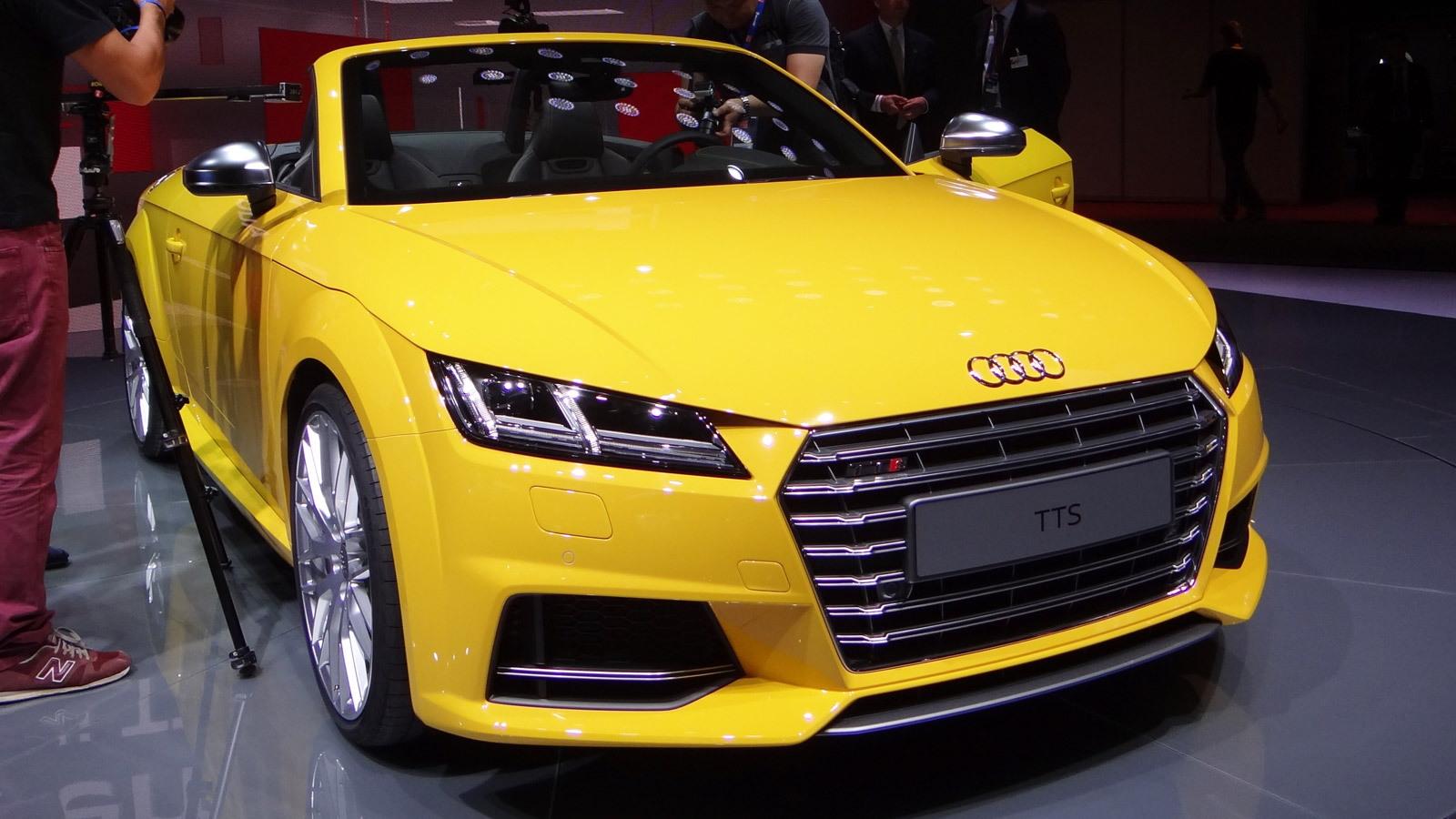 2016 Audi TTS Roadster, 2014 Paris Auto Show
