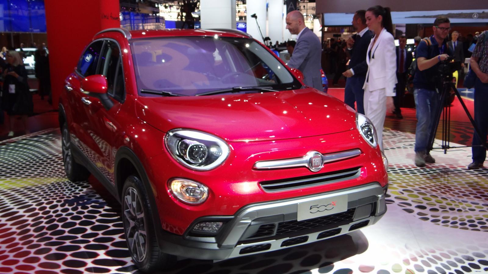 2016 Fiat 500X, 2014 Paris Auto Show