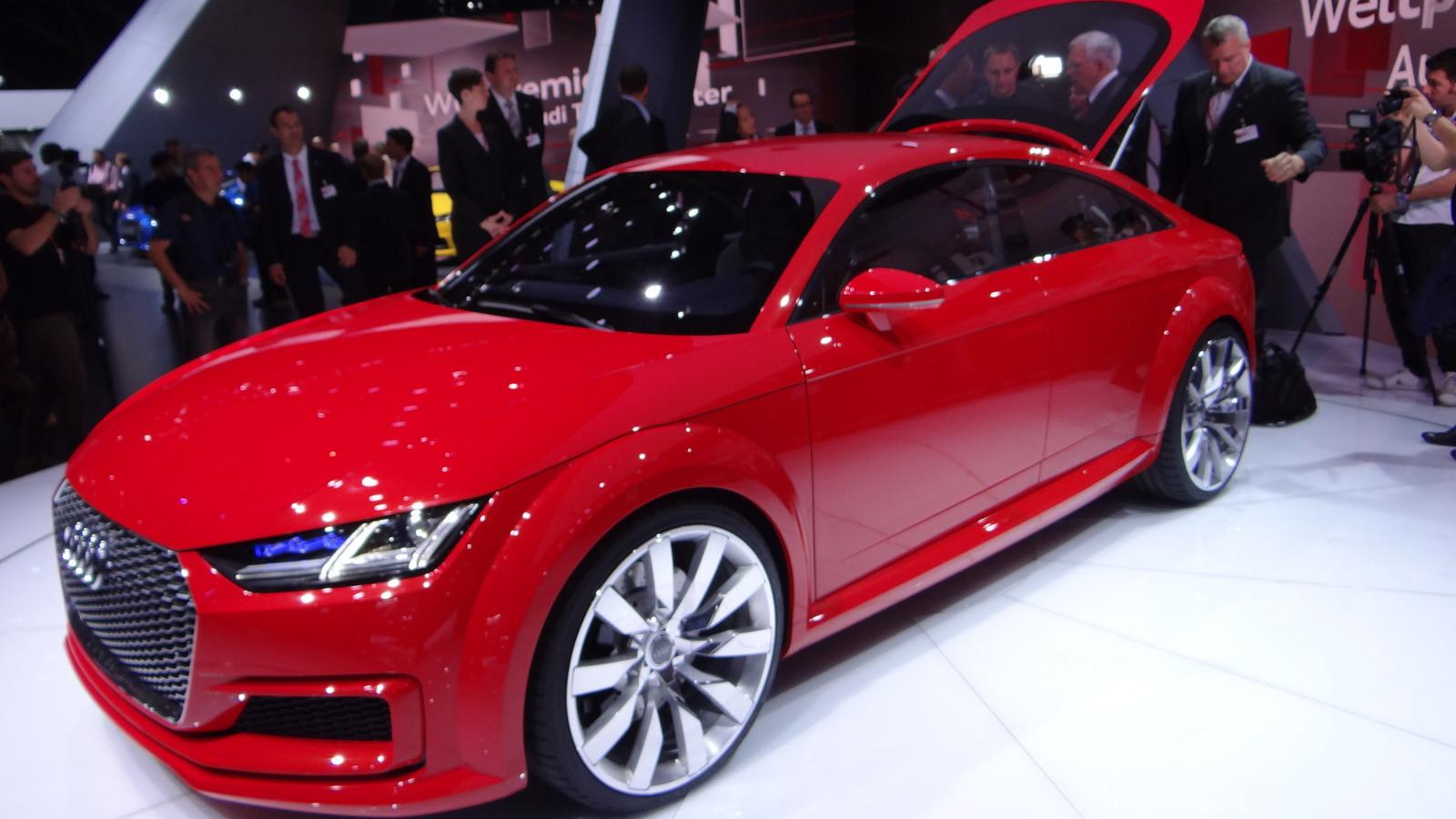Audi TT Sportback concept, 2014 Paris Auto Show