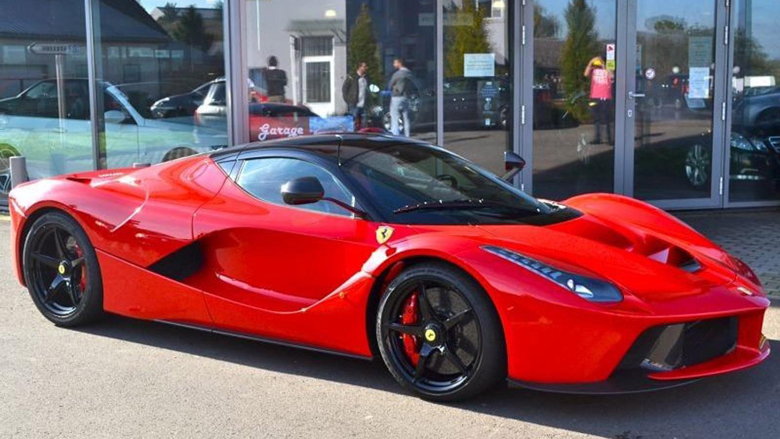 Ferrari LaFerrari up for sale (Image via Luxauto)
